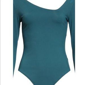 Free People - Abbie Long Sleeve Bodysuit